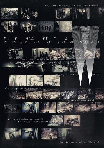 the GazettE WORLD TOUR13 DOCUMENTARY [DVD]