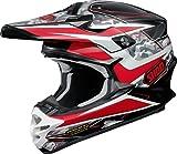 ショウエイ(SHOEI) ヘルメット VFX-W TURMOIL (ターモイル) TC-1 (RED/BLACK) S(55cm)-