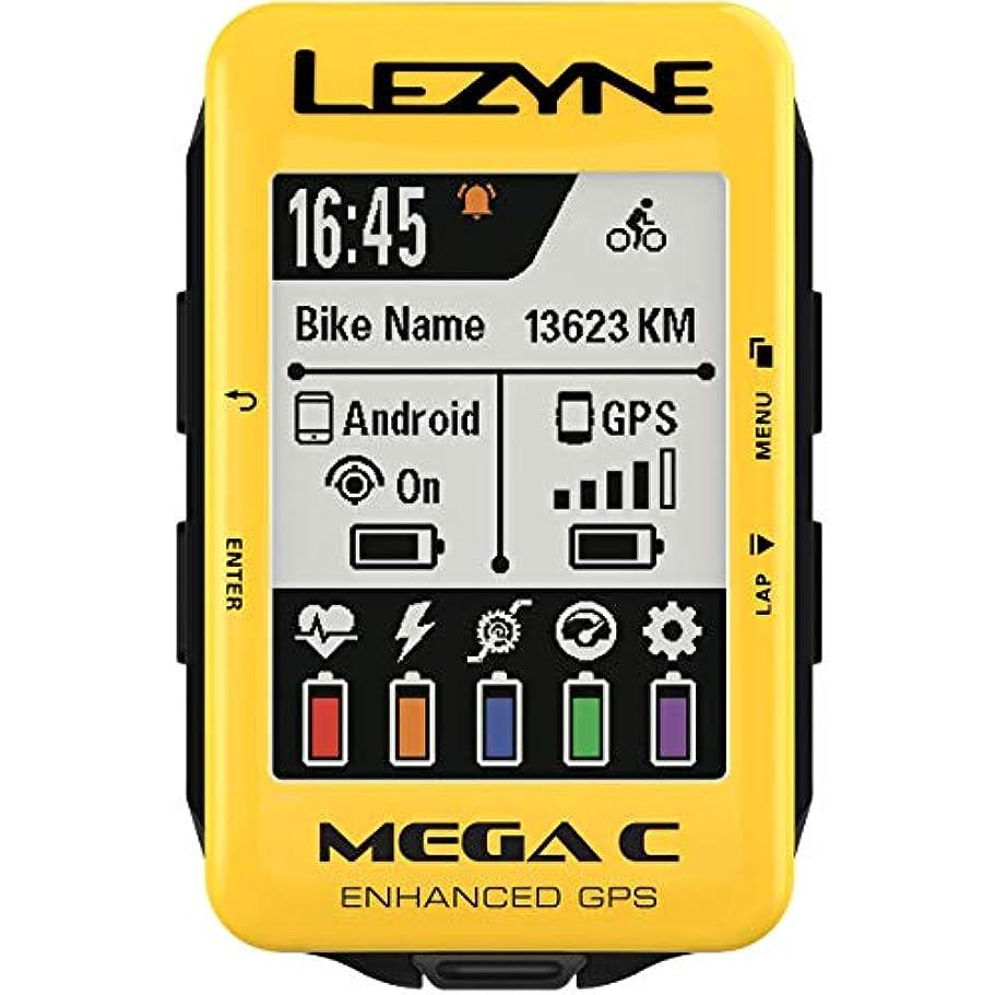 リクルートカンガルーメガロポリスLezyne Mega C LimitedイエローEdition GPSバイクコンピュータ