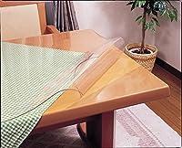 別注 両面非転写テーブルマット【非密着タイプ】 透明 オーダーメイド (90cm×165cm以内)