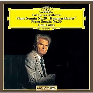 ベートーヴェン:ピアノ・ソナタ第29番&第30番