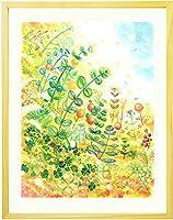 開業祝い 開店祝い 絵画アート 「grow」 【名前入れ可・Lサイズ】 観葉植物以外 お祝い プレゼント 会社設立祝い 事務所新築祝い 新社屋 グリーン 新店舗 贈り物 記念品