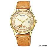 [シチズン] 腕時計 レグノ ソーラーテック Disneyコレクション 映画「ライオンキング」モデル 限定モデル400本 KH2-928-30 メンズ ブラウン