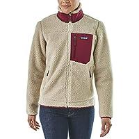 (パタゴニア) Patagonia Classic Retro-X Fleece Jacket - Women'sレディース バックパック リュック Natural/Arrow Red [並行輸入品]