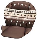 アップリカ ハイローチェア  ベッド 共通 替えクッションA ブラウンBR/洗濯機洗い可/91066