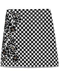 [リリーブラウン] ベロア刺繍BOXスカート LWFS185023 LWFS185023 レディース
