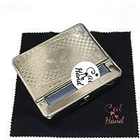 (キャット ハンド) Cat Hand 手巻き 煙草 用 ロールボックス 紙巻 タバコ 巻き器 ローラー 柄おまかせ (70mm用)