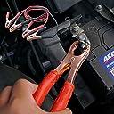 ブースターケーブル 12V 100a 最大400a対応 ワニ口 バッテリーケーブル 軽自動車 普通自動車 ジャンプコード_75141