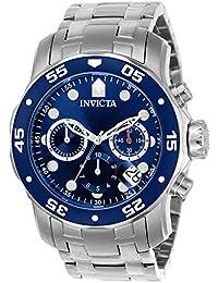 インビクタ Invicta Men's 0070 Pro Diver Collection Stainless Steel Watch with Link Bracelet 男性 メンズ 腕時計 【並行輸入品】