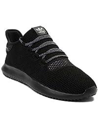 (アディダス) adidas 靴?シューズ メンズスニーカー Mens adidas Tubular Shadow Athletic Shoe Black/White ブラック/ホワイト US 8 (26cm)