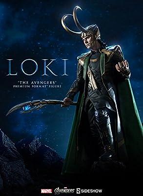 Sideshow Marvel 2012 Avengers Movie Lokiトム・ヒドルストンPremium Format Figure Statue