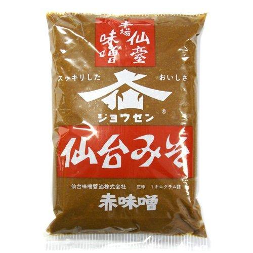 仙台みそ 赤味噌 1kg /仙台味噌醤油(1袋)