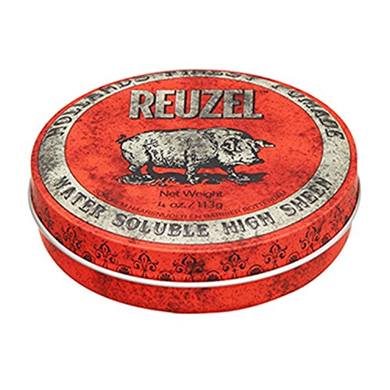 子供っぽい混乱させるモックルーゾー REUZEL HIGH SHEEN ノーマルホールド レッド 113g