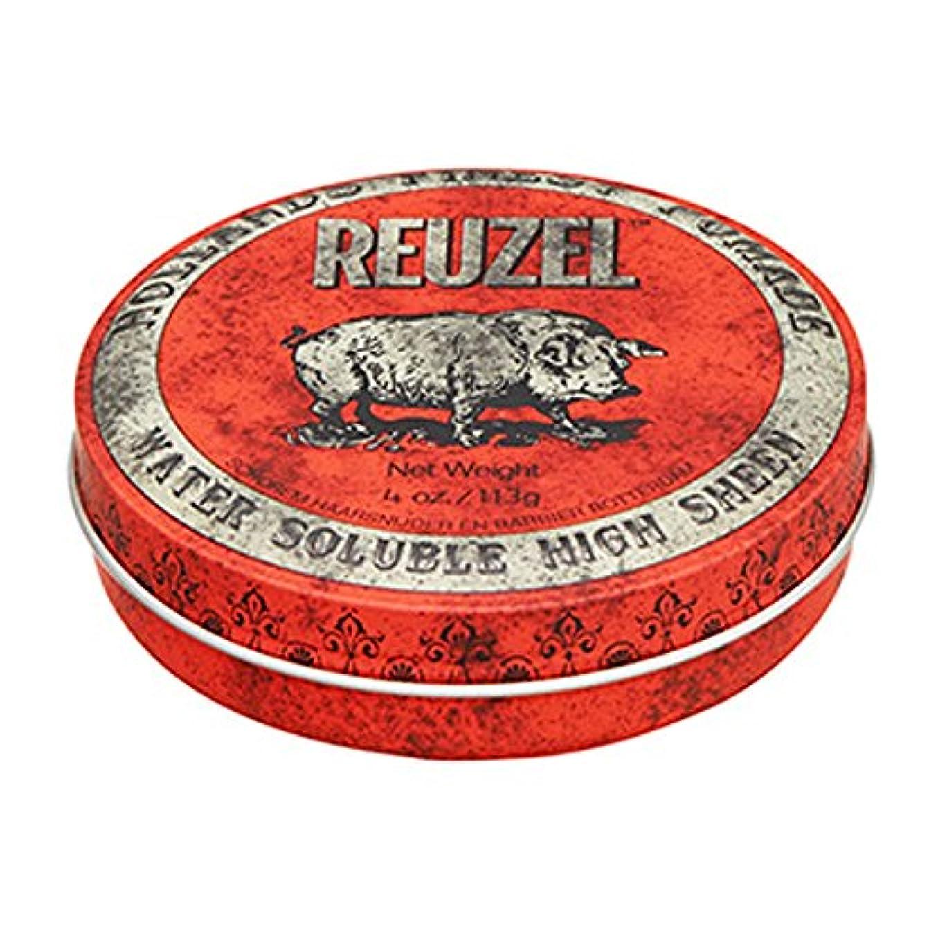 はちみつ不快な知覚できるルーゾー REUZEL HIGH SHEEN ノーマルホールド レッド 113g