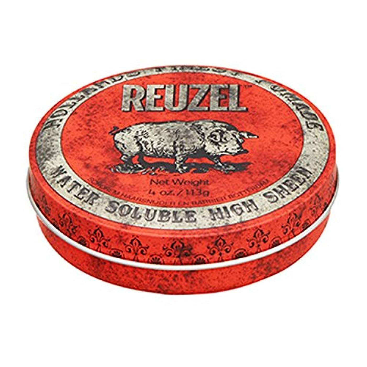 上に築きます定数もちろんルーゾー REUZEL HIGH SHEEN ノーマルホールド レッド 113g