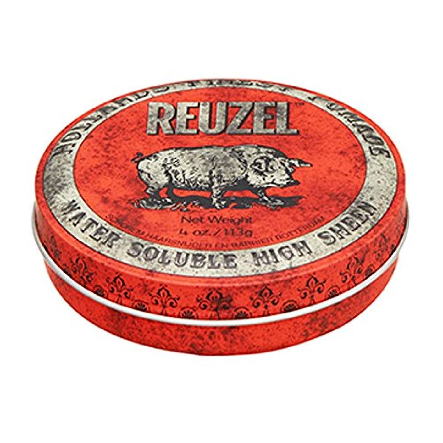 創始者怖がって死ぬ辛いルーゾー REUZEL HIGH SHEEN ノーマルホールド レッド 113g