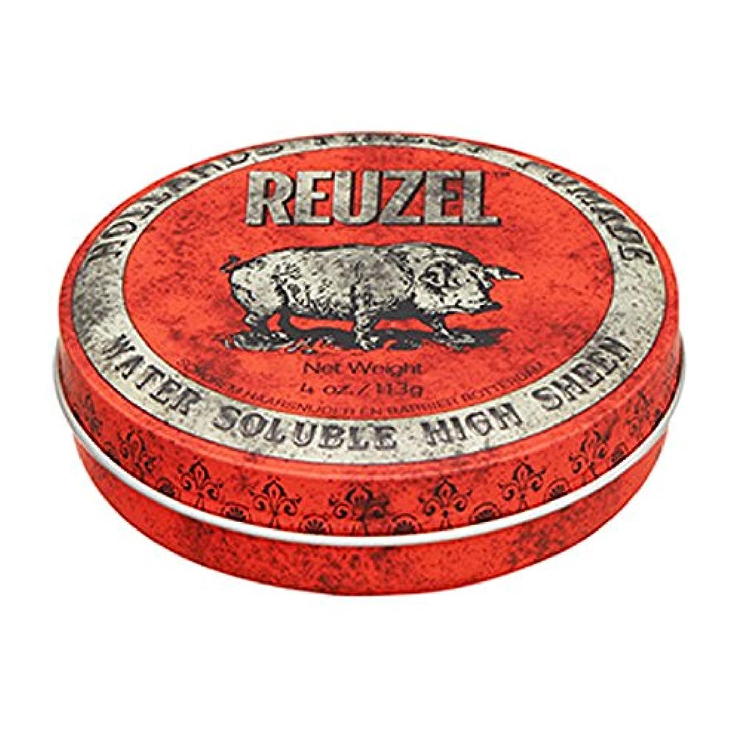 わずらわしい死ぬしなければならないルーゾー REUZEL HIGH SHEEN ノーマルホールド レッド 113g