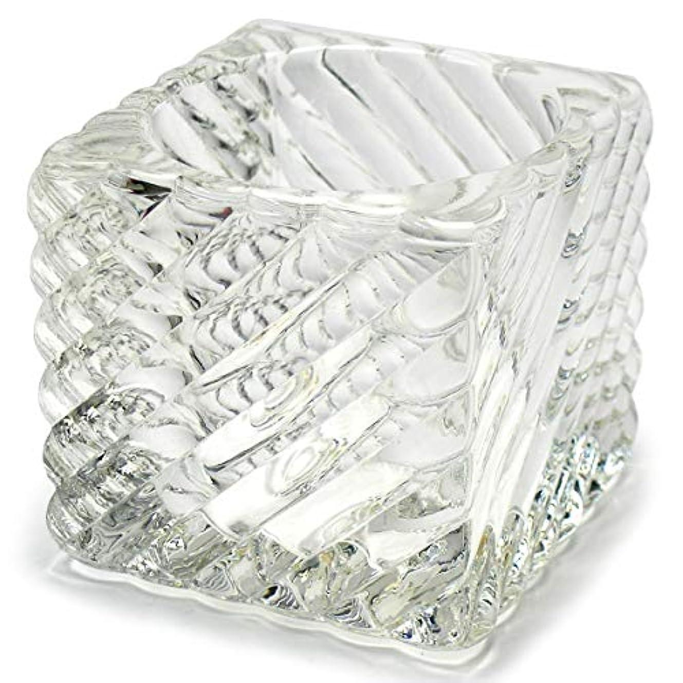 インフルエンザサイドボードリマークキャンドルホルダー ガラス 1 キャンドルスタンド クリスマス ティーキャンドル 誕生日 記念日