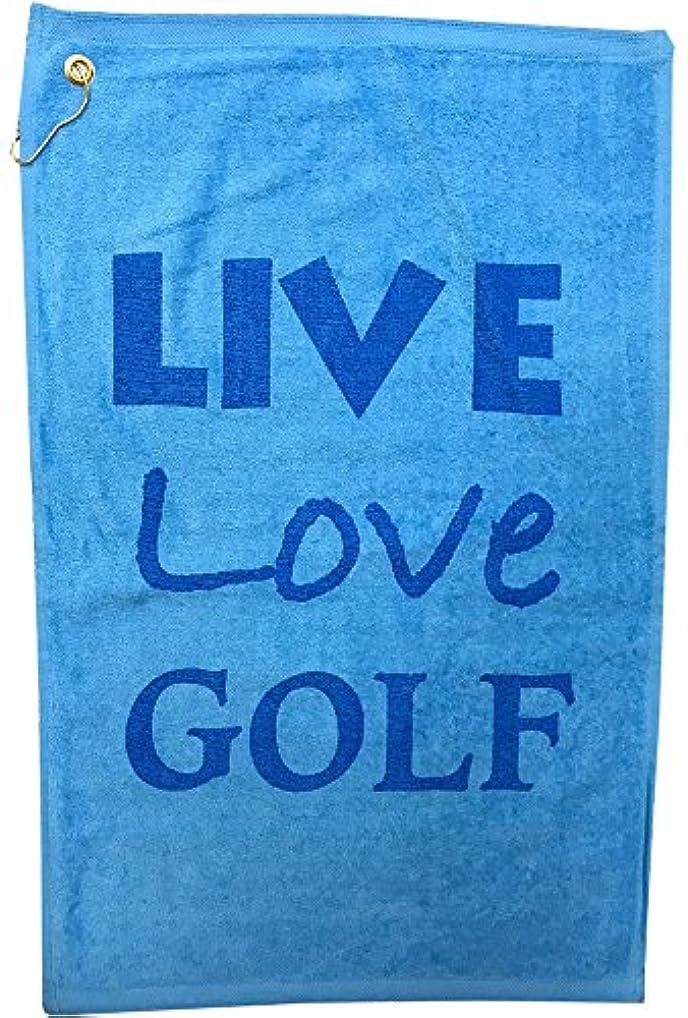 極めて重要な暴露するタックGiggleゴルフLive Loveゴルフタオル