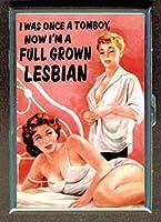 Tomboy Now Full Grown Lesbian IDウォレットorシガレットケースアメリカ製