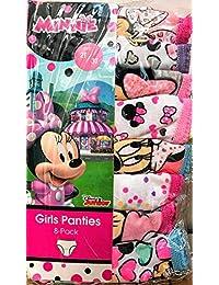 【Disney Junior】ミニーマウス ガールズパンツ 8枚セット サイズ:100cm~110cm 女児 女の子 年中さん 年少さん 年長さん 幼児 4歳 4才 100センチ 110センチ Disney(ディズニー) 下着 パンツ ショーツ【ミニーちゃん ミニー MINNIE】
