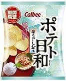 カルビー ポテト日和 桜えびしお味 70g×12袋
