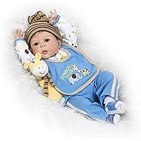 SanyDoll Rebornベビー人形ソフトSilicone 22インチ55 cm磁気Lovely Lifelike Cute Lovely Baby b0763l2ly2
