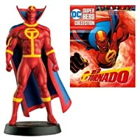 DC Superhero Red Tornado Best Of Figure with Collector Magazine #51 [並行輸入品]