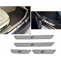 FidgetGear For BMW X1 X3 X5 X6 5/1/3/7 Series 4 DOOR SILL GUARD SCUFF STAINLESS STEEL