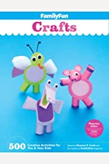 FamilyFun Crafts: 500 Creative Activities for You & Your Kids Spiral-bound