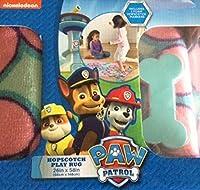 Paw Patrol Hopscotch Game Rug Pink and Blue 26 X 58 [並行輸入品]