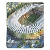 マウスパッド おしゃれ シェイクハリファ国際スタジアム マウスの精密度を上がる