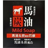 TKコーポレーション 馬油&炭配合石鹸 100g