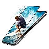 iPhone x ガラスフィルム 全面保護 3D フルカバー Seimina 液晶保護フィルム 強化ガラス 【日本製素材旭硝子製】 極薄0.3mm 高透過率 9H指紋防止 耐衝撃 5.8インチ