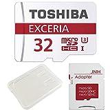 東芝 Toshiba 超高速U3 4K対応 microSDHC 32GB + SD アダプター + 保管用クリアケース [バルク品] [並行輸入品]