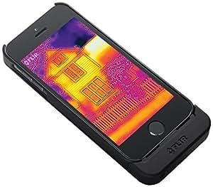 FLIR ONE アイフォーン5/5s用 熱赤外線 サーモグラフィーカメラ・バッテリー付きケース Thermal Imager for iPhone 5/5s 夜間の野生動物観察に使えます!【並行輸入品】