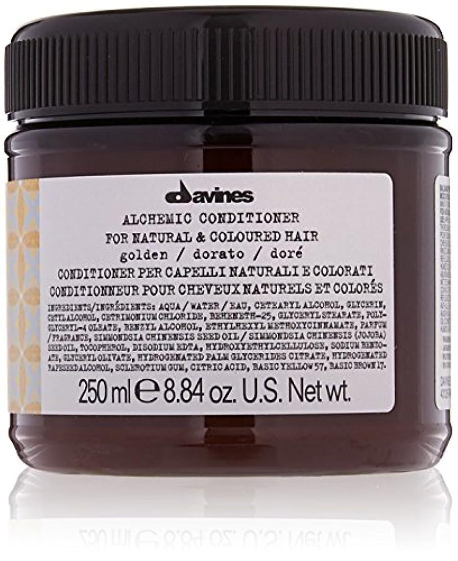 言い直す華氏常習者ダヴィネス Alchemic Conditioner - # Golden (For Natural & Coloured Hair) 250ml/8.84oz並行輸入品