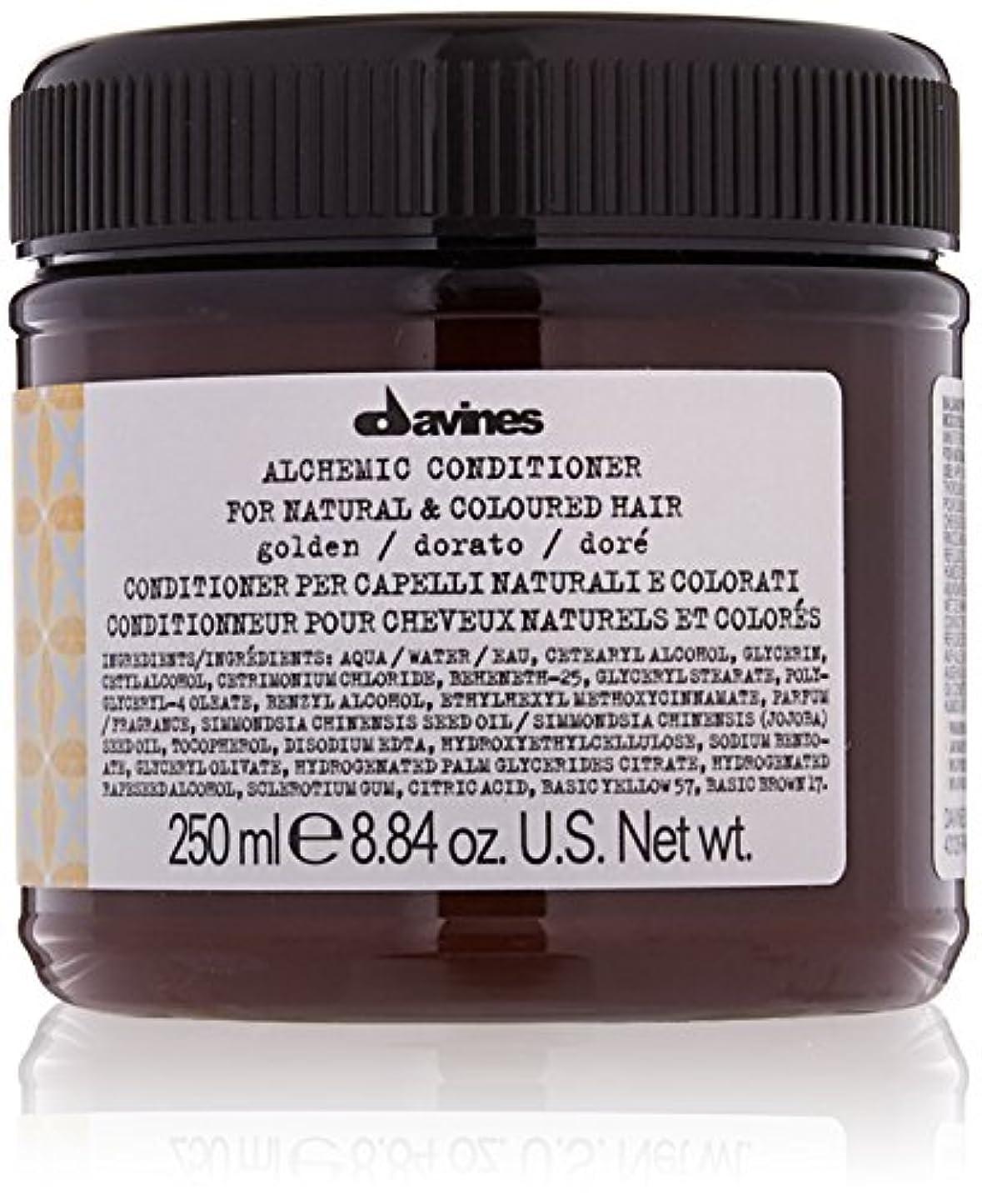 切り刻む入場料甘味ダヴィネス Alchemic Conditioner - # Golden (For Natural & Coloured Hair) 250ml/8.84oz並行輸入品