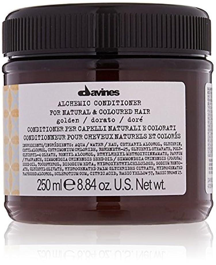 平手打ち見る人技術的なダヴィネス Alchemic Conditioner - # Golden (For Natural & Coloured Hair) 250ml/8.84oz並行輸入品