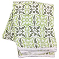 Bambino Land Double Layer Swaddling Blanket幾何グリーン