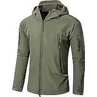 アウトドア タクティカル ソフト シェル ジャケット 保温や防水や防風など多機能のアノラック スキーと山登りの迷彩服