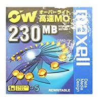 OW対応 230MB MOメディア 5枚パック maxell RO-M230B1P5