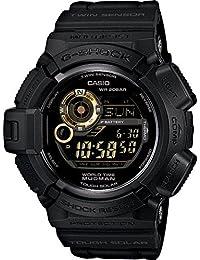 CASIO カシオ G-SHOCK Gショック ジーショック G-9300GB-1 海外直輸入品Black×Gold Seriesマッドマン ブラック×ゴールドシリーズ メンズ 腕時計 男性用 時計 ウォッチ 【逆輸入品】