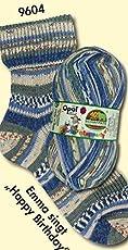 Opal 靴下用毛糸 SCHAFPATE_X / シャーフパーテ 10 4-fach (9604)