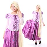 monoii ラプンツェル コスプレ 衣装 プリンセス ドレス ハロウィン コスチューム c514