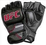 UFC 14890P-039252コンプ加重手袋 - ブラック&グレー、大特大