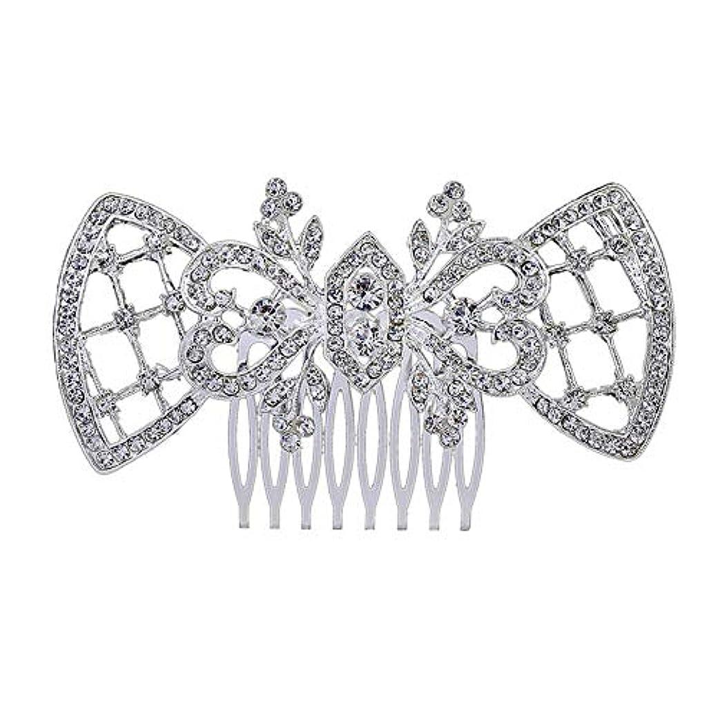応援する便利風邪をひく髪の櫛、櫛、ブライダル髪、髪の櫛、ハート形、ラインストーンの櫛、合金の帽子、結婚式のアクセサリー