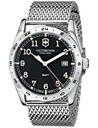 ビクトリノックス Victorinox Unisex 241649 Infantry Stainless Steel Watch with Mesh Bracelet 男性 メンズ 腕時計 【並行輸入品】