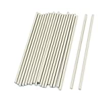 20PCS RC Smart Car Toy Parts Stainless Steel Round Bar Shaft 70 x 2mm by uxcell [並行輸入品]