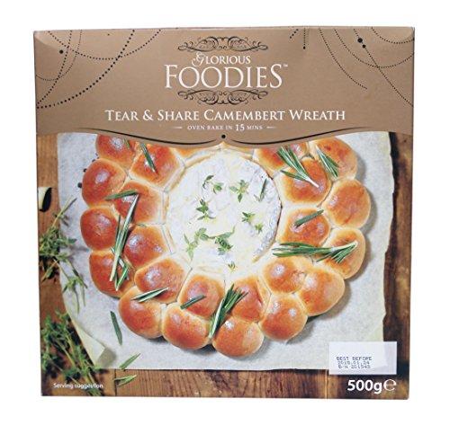 カマンベールチーズ&ブレッドリース 500g 【冷凍】